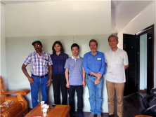 Australian Customer Visited Our Factory on July 9th,2014.
