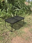 Steel net camping table