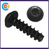 Pan head plum self-tapping screws