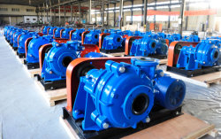 6/4D-MAHR slurry pump sent to Zimbabwe