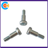 M4 pan head cross shoulder screws