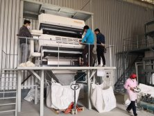 0.2-1.5mm quartz powder sorter machine in China