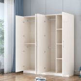 YIJIA customizable 4 door wooden wardrobe closet
