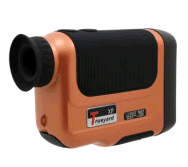 6X Trueyard Laser Rangefinder Telescope with External display