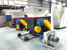 Automatic economical and practical Crusher and shredder in one machine