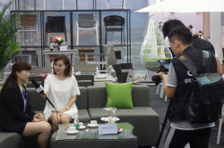 2017CIFF Exhibition CCTV interview