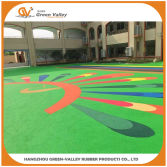 Kindergarten rubber flooring made with EPDM granules