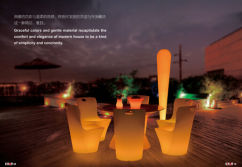 2015 New catalogue of led furnitures