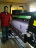Philippines customer satisfy with our printer and printing