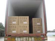 Shipment of water souce heat pump