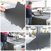 Leather cutting
