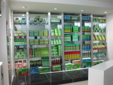 A Store Shelf---The Right Side of Showroom