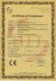 CE certificate of Electric Kettle