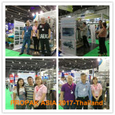 Customers visited us at the PROPAK ASIA 2017-Thailand