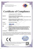 CE certificate for LVD of switching power supply