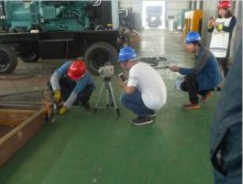 Inspection and supervision on workshop