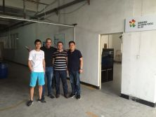 Algeria customer Devi Communicate to the factory