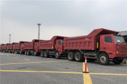 10 Units HOWO 70T&90T Mining Dump Truck to Thailand