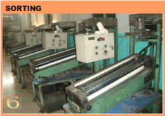 steel balls sorting procedure