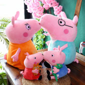 Hot Sale Cheap Soft Cartoon Lovely High Quality Stuffed Pig Animal Plush Doll Toy