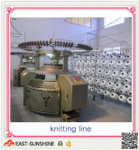 the produce process---knitting