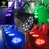 Indoor 18X18W RGBWA UV 6in1 Stage Lighting Zoom LED PAR