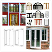 Aluminium window and door fabrication
