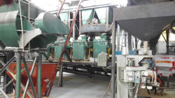production line of granular ammonium sulphate