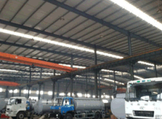 Aluminum alloy tank workshop