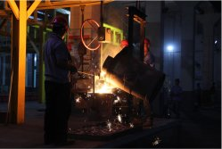 molten iron preparing