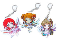 Cute Animation Girl Key Chain of Anime Key Ring