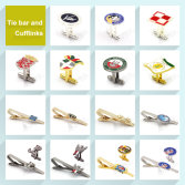 Tie bar and Cufflinks