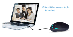 Conference System Solution USB 2.0 Video Conferencing Microphone