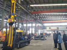 Nigeria Customer To Visit Our Factory For His HFDX-4 Full Hydraulic Core Drilling Rig