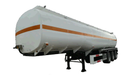 semi-trailer oil tank truck