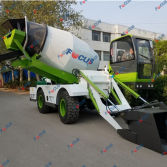 FOCUS Self-loading Concrete Truck Mixer Hitting the market