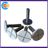 Large flat head cross screw