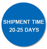 Shipment Time 20-25 Days