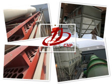 Customer send the bag filter equipment picture in well working