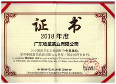 Membership of China Association of Amusement Parks & Attractions