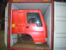 HOWO Tractor head SKD Shipment by Container