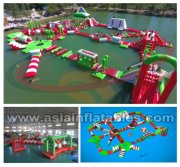 Floating Water Park, Aqua Water Park, Inflatable Water Park