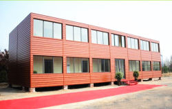 Container Hotel Sample In Our Factory