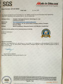 SGS certificate of ultrasound