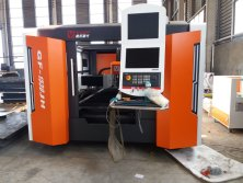 Optical fiber laser cutting machine of Haiqin Machinery !