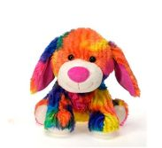 Colorful animal plush toy