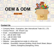 Experienced Toy ODM & OEM Service Supplier