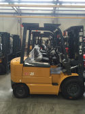 Arbania customer bought 2 units CHL electric forklift truck