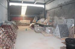 Warehouse for sapre parts of concretre vibrator