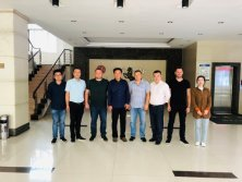European Customers Visit CIC factory and Intended to Fully Cooperate